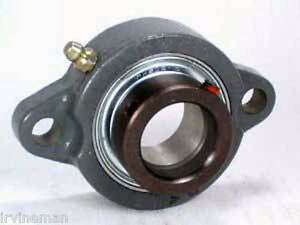 Fhfd206 20g Bearing Flange Light Duty 2 Bolt 1 3 16 Inch Bearings Rolling