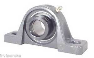 Fhpw206 19 Pillow Block Cast Iron Light Duty 1 3 16 Inch Bearings Rolling