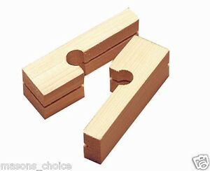 Wooden Line Blocks 40pcs For Bricklayers Blocklayers Masonry Contractors