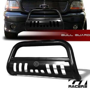For 1997 2003 F150 1999 Expedition Blk Bull Bar Brush Bumper Grill Grille Guard
