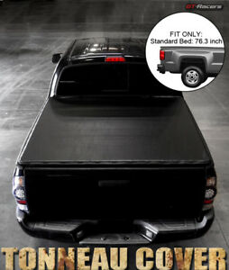 For 2009 2010 2018 Dodge Ram 1500 2500 6 4 76 Bed Snap On Vinyl Tonneau Cover