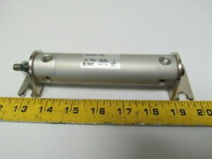Smc Ncdgbn25 0250 Pneumatic Air Cylinder 1 Bore 2 1 2 Stroke Foot Mount