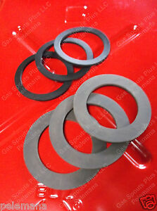 3 Jerry Spout Gaskets 3 Gerry Cap 6 Gskt Fuel Blitz Metal Gas Usmc Military 20l