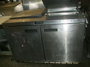Sandwich Prep Table Delfield S s Ext Board And Pans 4 Ft 900 Items E Bay