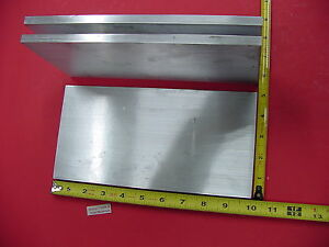 3 Pieces 3 8 X 5 Aluminum 6061 Flat Bar 10 Long T6511 Solid Plate Mill Stock