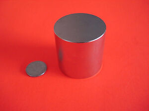 10 Pc Powerful Grade N42 1x1 Inch Rare Earth Neodymium Cylinder Magnets