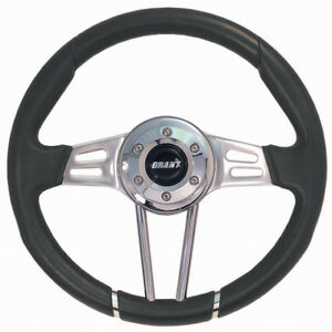 Grant 457 Club Sport Steering Wheel 13 5 In Diameter 3 5 In Dish Inc Styl