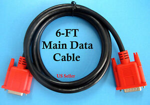 6ft Replacement Main Data Cable For Snap on Mt2500 Mtg2500 Scanner Adapter