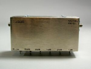 Texscan Rf Coaxial Attenuator Model Pa 51 Free Shipping Used