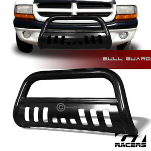 For 1997 2004 Dakota durango Black Steel Bull Bar Brush Push Bumper Grille Guard