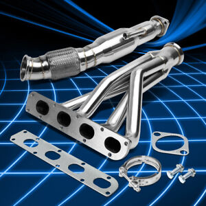 Fit Cobalt Ion 05 07 2 0 Stainless Performance Header Manifold Downpipe Exhaust