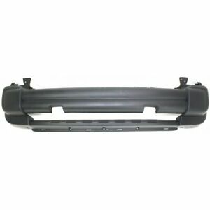 Front Bumper Cover For 2005 2007 Jeep Liberty W Tow Hook Hole Textured Plastic