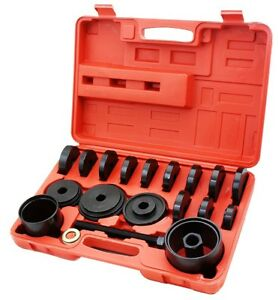 19 Pc Auto Jumbo Bearing Race Seal Driver Tool Master Set Wheel Axle Bushing
