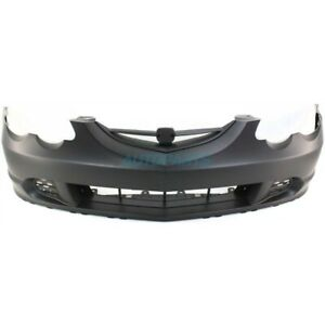 New Front Bumper Cover Primed Fits 2002 2004 Acura Rsx Ac1000143