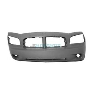 New Front Bumper Cover Fits 2006 2010 Dodge Charger Ch1000461
