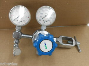 Linde C5 sg 3560 Compressed Gas Regulator 4000 Psi Max Inlet Max Outlet 30 Psi