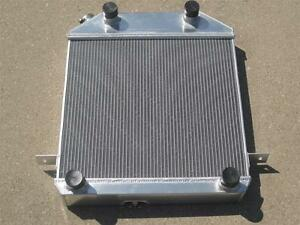 1939 1940 1941 Ford Flathead V8 Engine Lightweight Aluminum Radiator 3 Core