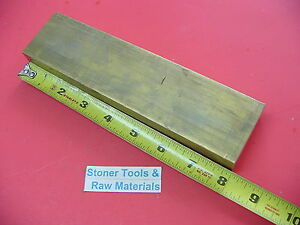 1 X 2 C360 Brass Flat Bar 8 Long Solid 1 00 Plate Mill Stock H02
