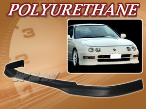 For 94 97 Acura Integra Jdm r Poly Urethane Pu Front Bumper Lip Spoiler Body Kit