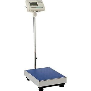 Industrial Bench Floor Scale 660 Lb 300 Kg 115 Volt Warehouse Shipping