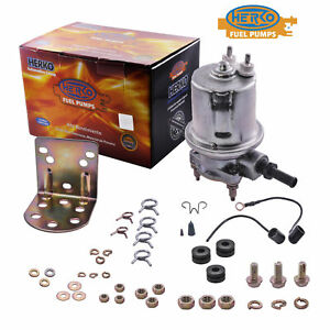 Herko Universal Rotary Vane Electric Fuel Pump 5 8 Psi 72 Gph