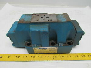 Vickers Dg5s 8 33c m fpa5wl b5 30 Hydraulic Directional Control Valve 3000 Psi