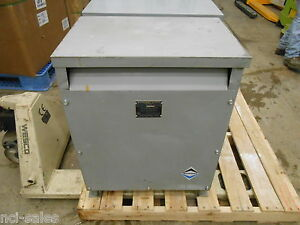 Sorgel Electrical Corp 45t3h Three Phase Insulated Transformer 45kva