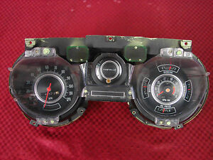 69 Chevrolet Chevelle Ss Elcamino Factory Gm Tachometer Gauges