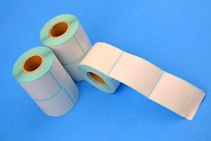 50 Rolls 12500 Label 40mm X 60mm Self Adhesive Thermal Labels For Zebra Shipping