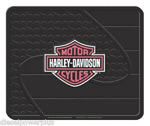 Harley Davidson Utility Floor Hd Mat Welcome Shop Garage Back Rear Cycle