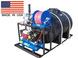 525 Gallon Asphalt Sealcoating System Hand Agitated Accessories Yamada