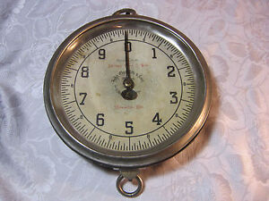 Abraham Gerz Son John Chatillon Sons New York General Store Old Scale T