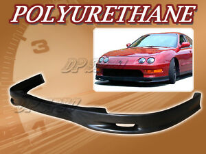 For 98 01 Acura Integra T S Poly Urethane Pu Front Bumper Lip Spoiler Body Kit