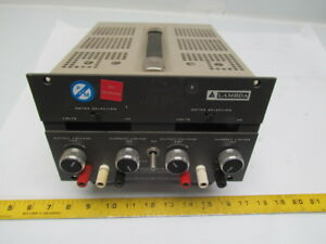 Lambda Electronics Lqd 425 Dual Output Digital Dc Lab Power Supply 0 250vdc