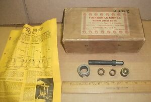 New Vintage Fairbanks morse Mt 1 Service Kit For Fm k Magneto