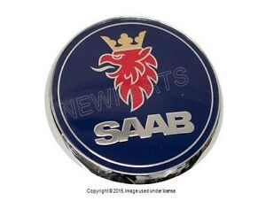 For Saab 9 5 Sedan 01 05 Trunk Emblem Genuine 52 89 913