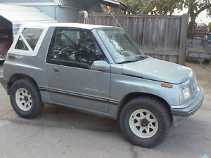White 88 94 Suzuki Sidekick Geo Tracker Replacement Soft Top