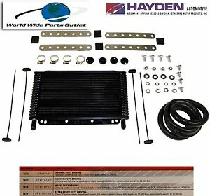 Automatic Transmission Oil Cooler Hayden 677 oc 1677 Plate And Fin Type