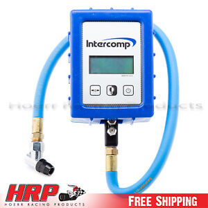 Intercomp digital Air Pressure Gauge W case 99 99 Psi 360045