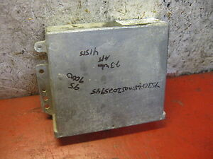 97 96 95 Saab 9000 2 3 Turbo Engine Computer 4301917 Ecm Ecu