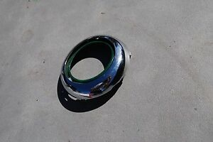 1953 Chrysler Chrome Horn Button Ring Nice Original Nearlynos Condition