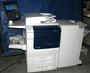 Xerox Color 560 Xc560 Printer 60 Ppm 65 Ppm Automatic Duplexing Finishing