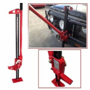 Off Road Ratcheting Farm Jack Truck High 48 Lift Bumper 3 5 Ton Tractor Suv