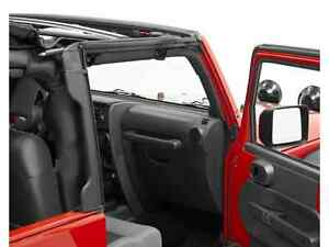 2010 2017 Jeep Wrangler Bestop Soft Top Door Surround Rear Window Bar Kit