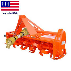 54 Rotary Tiller Cat 1 Hitch 20 To 35 Hp 36 Tines 3 Pto Commercial