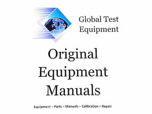Agilent Hp Keysight 85054 90049 85054b User s Guide And Service Guide