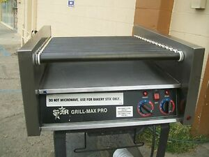 Star Max Pro Hot Dog Grill roller 2 Thermostats 115 Volts 900 Item On E Bay