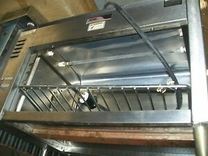 Apw C top Cheese Melter Electric 209v new Heat Tube all S s 900 Items On E Bay
