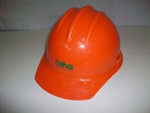 Bullard Model 3000 Orange Hard Construction Hat Osha