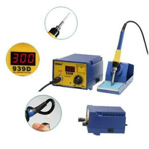 Yihua 939d 60w Soldering Solder Rework Station Soldering Iron Base Holder 110v
